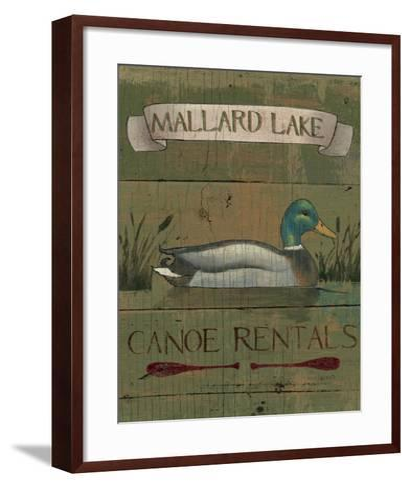 Lodge Signs IV-James Wiens-Framed Art Print