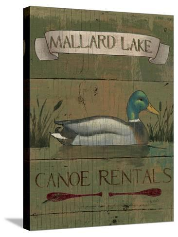Lodge Signs IV-James Wiens-Stretched Canvas Print