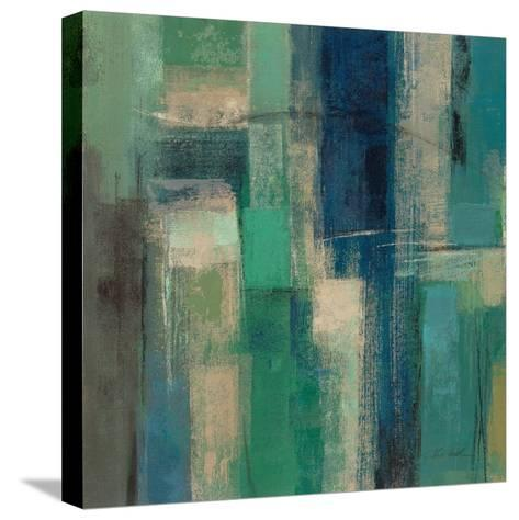 Emerald Fields Square I-Silvia Vassileva-Stretched Canvas Print