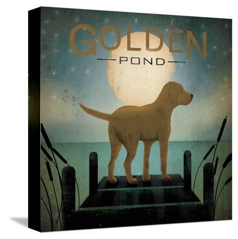 Moonrise Yellow Dog-Ryan Fowler-Stretched Canvas Print