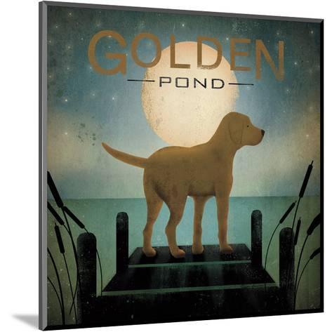 Moonrise Yellow Dog-Ryan Fowler-Mounted Art Print