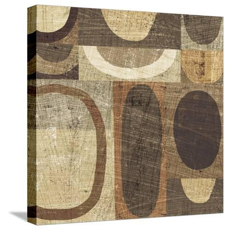 Modern Geometric Neutral I-Michael Mullan-Stretched Canvas Print