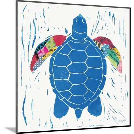 Sea Creature Turtle Color-Courtney Prahl-Mounted Art Print