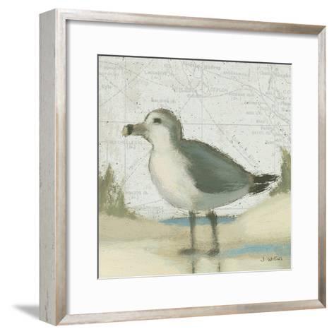 Beach Bird II-James Wiens-Framed Art Print
