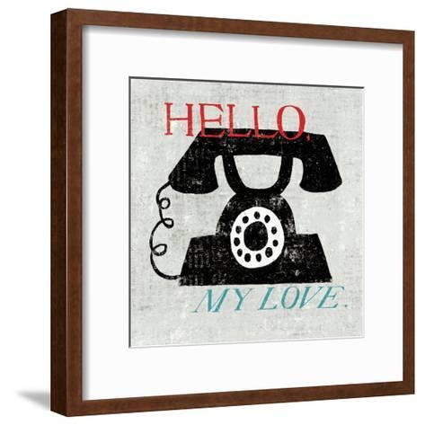 Vintage Desktop--Framed Art Print