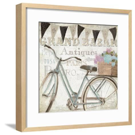 French Flea Market II-Emily Adams-Framed Art Print