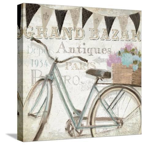 French Flea Market II-Emily Adams-Stretched Canvas Print