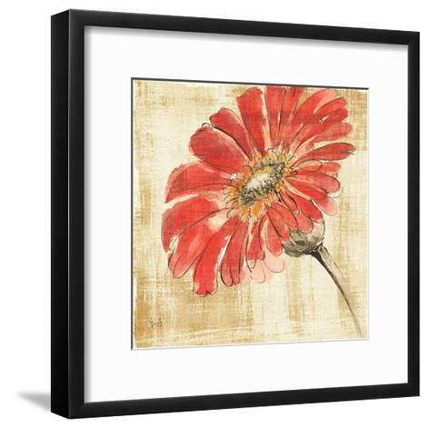Tangerine and Grey II-Chris Paschke-Framed Art Print