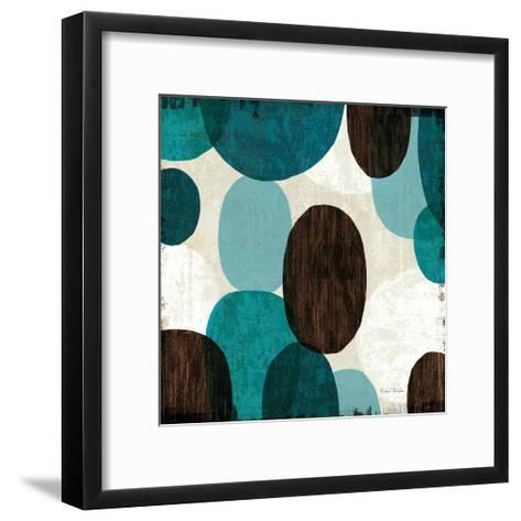 Blue Drips II--Framed Art Print