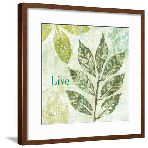 Natures Impressions I--Framed Art Print