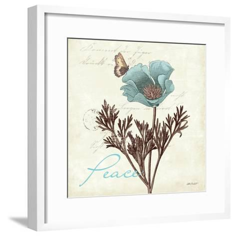 Touch of Blue I-Katie Pertiet-Framed Art Print