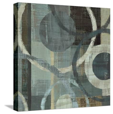 Metalic Tranquility II--Stretched Canvas Print