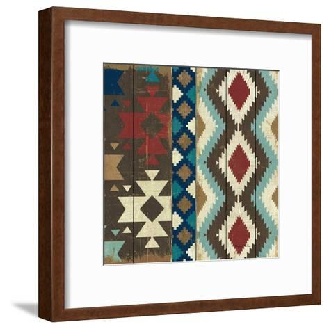 Native Tapestry Crop--Framed Art Print