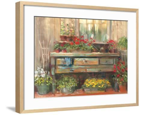 Gardners Table-Carol Rowan-Framed Art Print