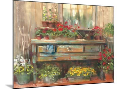 Gardners Table-Carol Rowan-Mounted Art Print