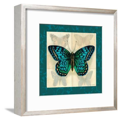 Silk Butterfly I--Framed Art Print