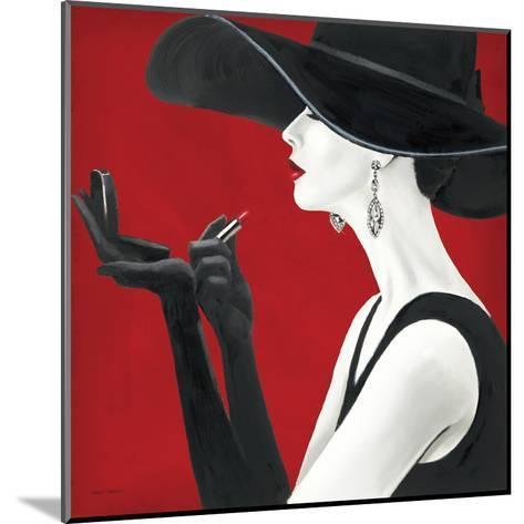 Haute Chapeau Rouge II-Marco Fabiano-Mounted Art Print