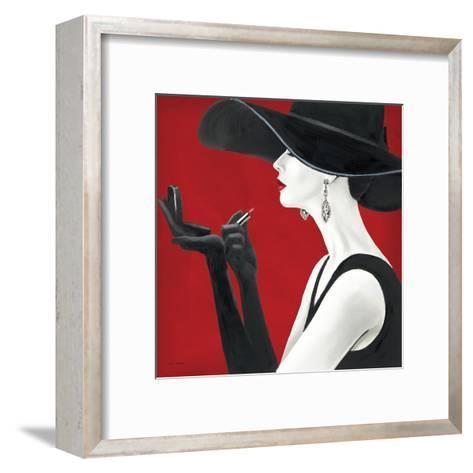 Haute Chapeau Rouge II-Marco Fabiano-Framed Art Print