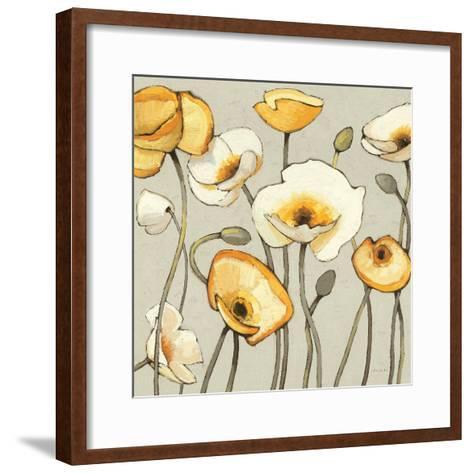 Jaune Gris III--Framed Art Print