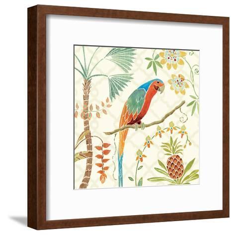 Tropical Paradise III-Daphne Brissonnet-Framed Art Print