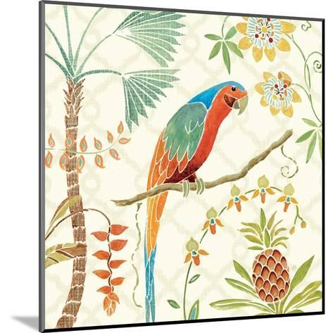 Tropical Paradise III-Daphne Brissonnet-Mounted Art Print