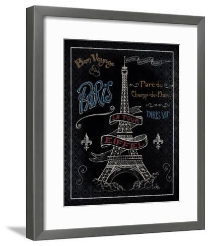 Travel to Paris I-Daphne Brissonnet-Framed Art Print