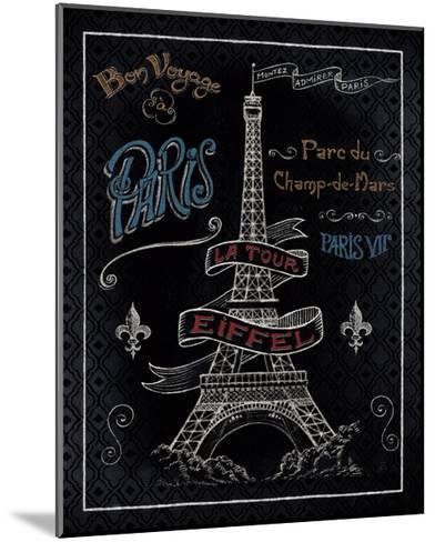 Travel to Paris I-Daphne Brissonnet-Mounted Art Print
