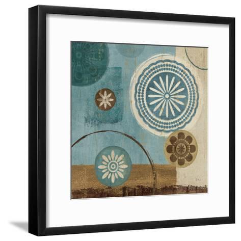 New Generation Blue III-Veronique Charron-Framed Art Print