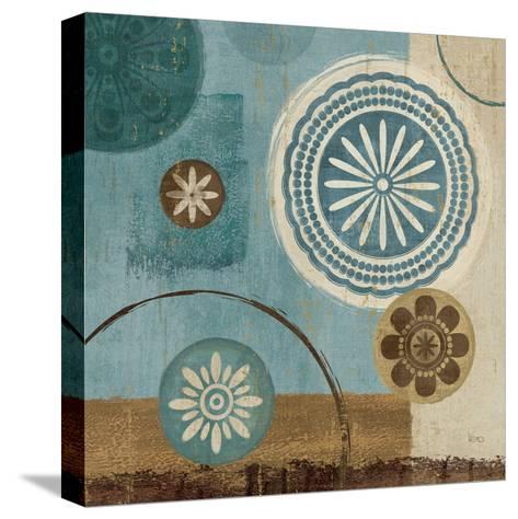 New Generation Blue III-Veronique Charron-Stretched Canvas Print