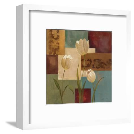 Retro Floral II-Silvia Vassileva-Framed Art Print