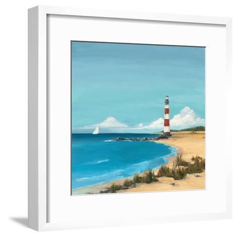 Sandy Point-Avery Tillmon-Framed Art Print