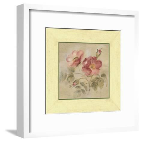 Burgundy Rose-Cheri Blum-Framed Art Print