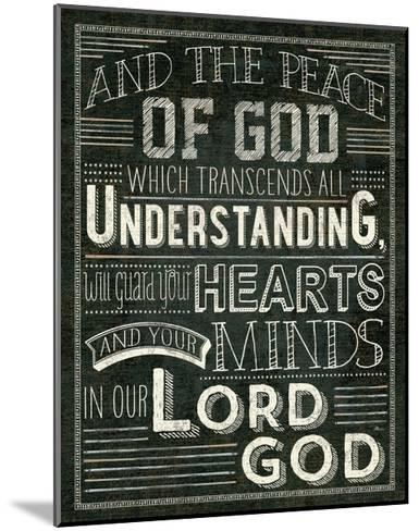 Holy Words II-Pela Design-Mounted Art Print