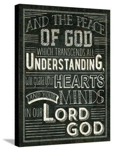 Holy Words II-Pela Design-Stretched Canvas Print