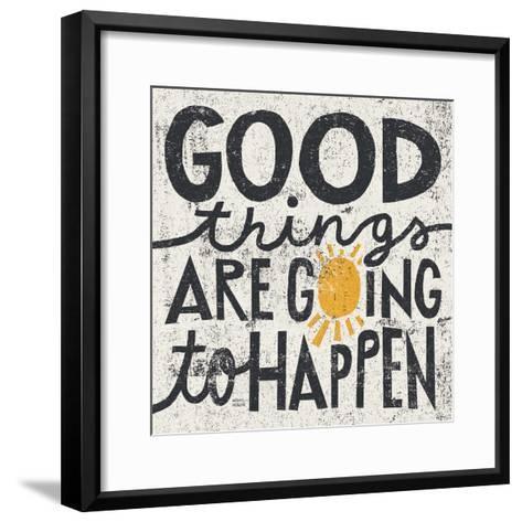 Good Things are Going to Happen-Michael Mullan-Framed Art Print