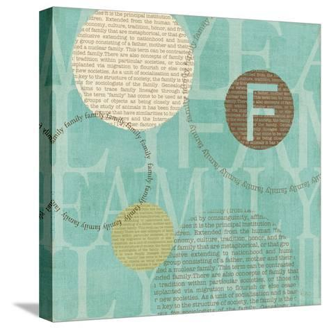 Circle of Words-Veronique Charron-Stretched Canvas Print