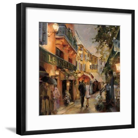 Evening in Paris-Marilyn Hageman-Framed Art Print