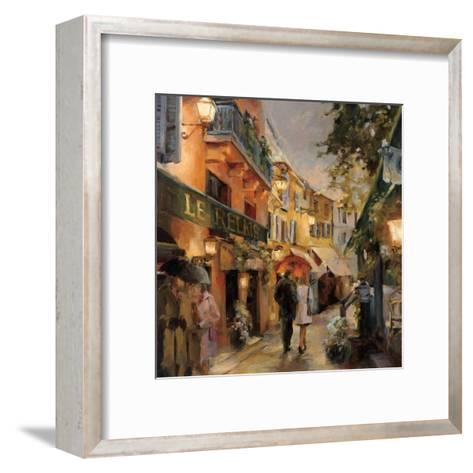 Evening in Paris-Marilyn Hageman-Framed Art Print