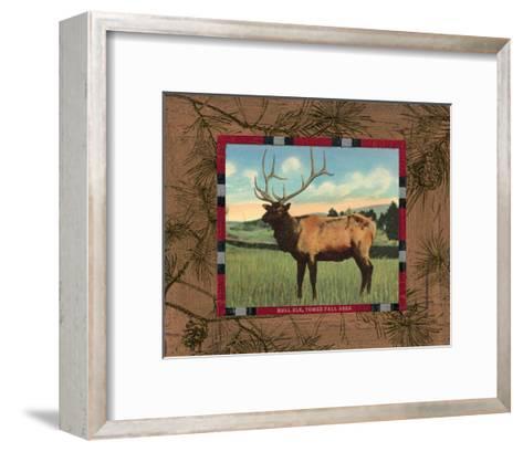 Elk I-Hugo Wild-Framed Art Print