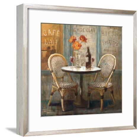 Meet Me at Le Cafe I-Danhui Nai-Framed Art Print