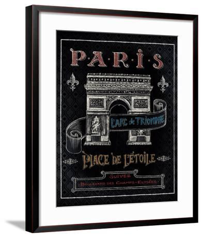 Travel to Paris II-Daphne Brissonnet-Framed Art Print