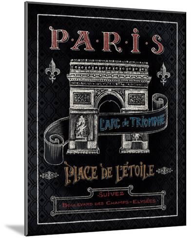 Travel to Paris II-Daphne Brissonnet-Mounted Art Print