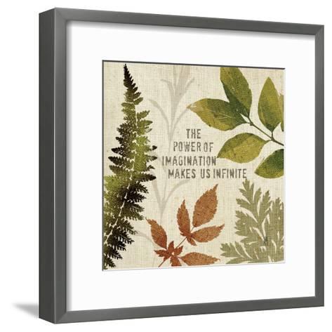 Leaves of Inspiration II-Sarah Mousseau-Framed Art Print