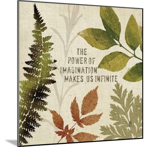Leaves of Inspiration II-Sarah Mousseau-Mounted Art Print