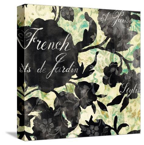 Paris Bloom I-Danhui Nai-Stretched Canvas Print