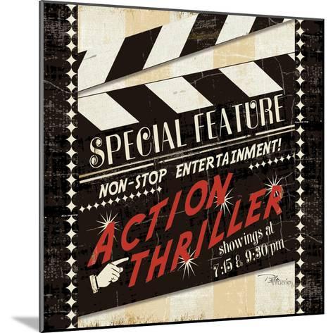 Action Thriller-Jess Aiken-Mounted Art Print