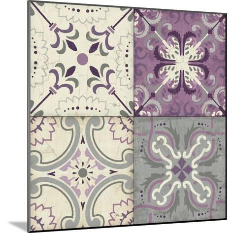 Lavender Glow Tiles Special-Jess Aiken-Mounted Art Print