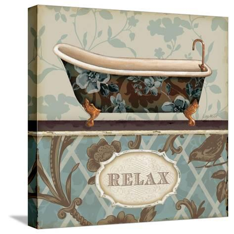 Bathroom Bliss I-Lisa Audit-Stretched Canvas Print