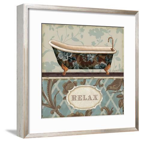 Bathroom Bliss I-Lisa Audit-Framed Art Print