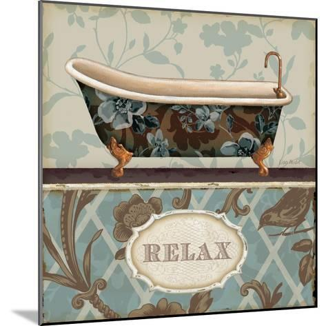 Bathroom Bliss I-Lisa Audit-Mounted Art Print